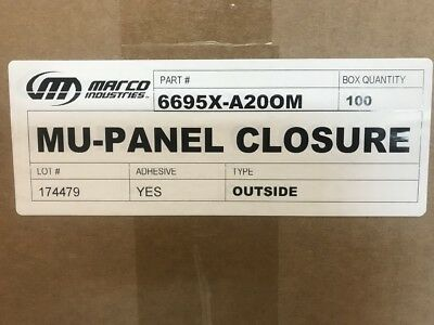 CLOSURE STRIP FOAM for R-panel, U-panel (O/S,I/S) Metal Roofing