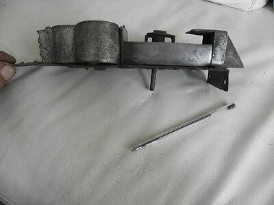 antique ornate Slide Bolt Latch Lock door old Castle Handmade SMITH MADE 9