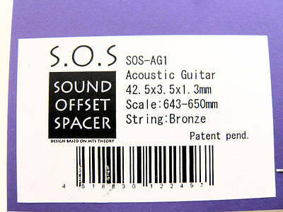 Compensated Guitar Nut S.O.S. Acoustic 4