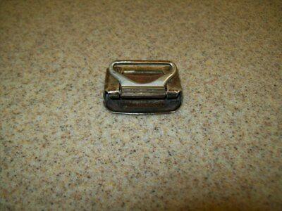 Vintage Belt Buckles Solid Brass Sterling & Pioneer Silver Plate (Lot of 3) 10