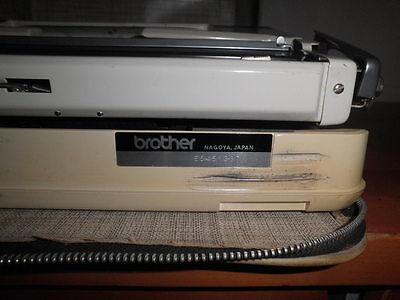 Maquina De Escribir Vintage Brother De Luxe 1350 Automatic Repeat Spacer  Funda 2