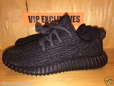 the latest f46d3 3667c ... Adidas Yeezy 350 Boost Low Kanye West Triple Black Pirate Black AQ2659 7