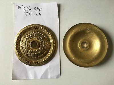"Cast Brass 2 3/4"" Chandelier Bobesche Old New stock Lamp Part (TYPE E) FREE Shpg 2"
