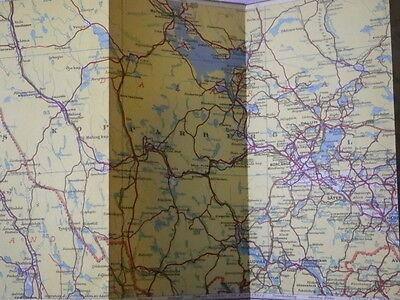 Sweden in Three Parts - Vintage Maps 10