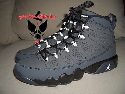 buy online aec15 1ce7a ... NIKE AIR JORDAN 9 RETRO IX GS BG ANTHRACITE BLACK OVO youth 302359 013 7