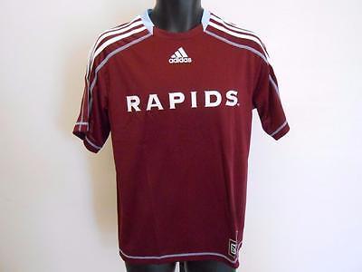 1 of 7 NEW MLS Colorado Rapids Adult Mens Sizes S-M-L-XL-2XL Adidas  Climalite Jersey 0a87e007e