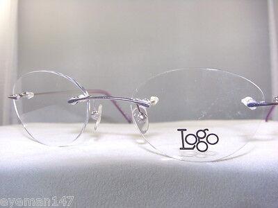 1b764be82e WOMENS 3 PIECE Rimless Eyeglass Frame In Lavender  6018 -  14.99 ...