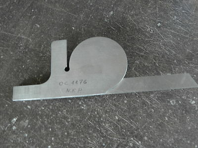 vintage tool roch swiss Combination Square Engineers Toolmakers Lathe PROTRACTOR 6