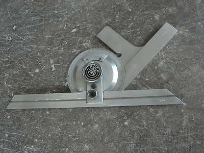 vintage tool roch swiss Combination Square Engineers Toolmakers Lathe PROTRACTOR 8