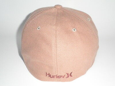 watch 9ae52 9d79c 2 of 4 Hurley BERMUDA Hat Brown S M ( 28) NEW Flexfit Cap Surf Mens One