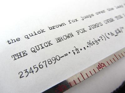 Silver Reed Whs Silver/grey Fox *black* Top Quality Typewriter Ribbon+*eyelets* 2