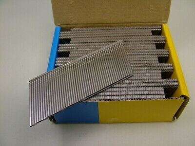 2nd fix Stainless Steel angled brad finish nails 16 gauge 38mm box of 2500 2