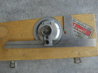 vintage tool roch swiss Combination Square Engineers Toolmakers Lathe PROTRACTOR 2
