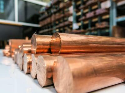 Copper Round Bar Rod Many sizes and lengths Coper Metal Strip Section 2