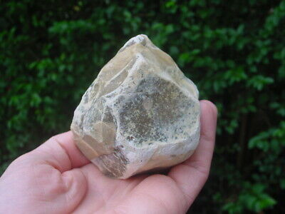 RARE Acheulian Lower Palaeolithic Patinated Flint CORE CHOPPER Hampshire UK 4