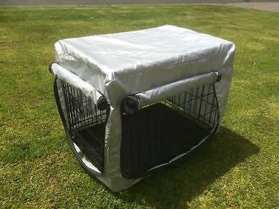 "30""36""42""48 Metal Collapsible Pet Dog Rabbit Puppy Wire Cage Pen Crate Enclosure 7"