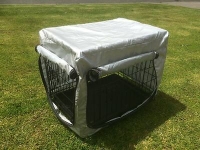 "30""36""42""48 Metal Collapsible Pet Dog Rabbit Puppy Wire Cage Pen Crate Enclosure 6"