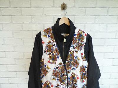 Vintage Shell Suit Jacket Top Festival Tracksuit Windbreaker 80s/90s (M) D5650 2