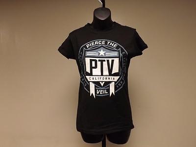 New PIERCE THE VEIL Womens sizes XS-S-M-L-XL-2XL-3XL Concert Band Shirt