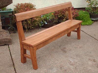 Victorian  Rustic  Pine  Bench 5