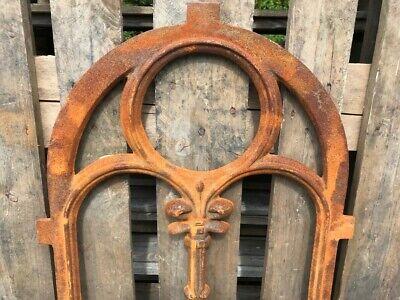 Stallfenster Gussfenster Scheunenfenster rostig antik ländlich H.76cm B.50cm 2