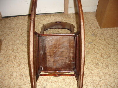 Beautiful Antique Wooden Rocking Chair 11