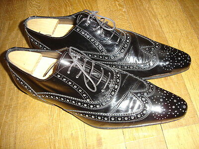 Chaussures De Moine En Cuir Noir - Hugo En 001 m0UEn4