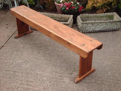 Antique  Rustic  Pine  Bench 7