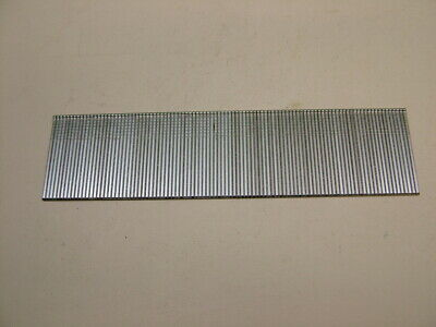 2nd fix collated galvanised straight brad finish nails 18 gauge 32mm box of 1000 2