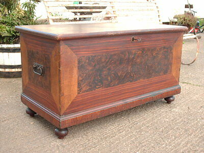 Victorian  Pine  Chest / Bedding  Box 7