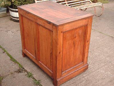 Victorian  Rustic  Pine  Coffer /  Chest / Bedding  Box 6