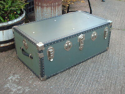 Vintage Travel  Chest / Trunk 7