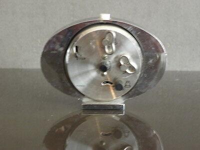 vintage clock alarm jaz retro desk  Art Deco design 70 FASHION pop Mechanics uhr 6