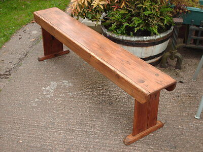 Antique  Rustic  Pine  Bench 2