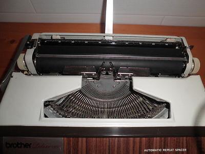 Maquina De Escribir Vintage Brother De Luxe 1350 Automatic Repeat Spacer  Funda 9
