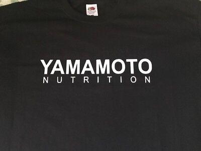 "T-Shirt Bodybuilding Fitness Palestra ""Yamamoto Nutrition"" 2"