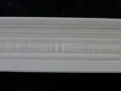 Beautiful Hand Carved Marble European Design Marble Figural Fireplace Mantel Z10 5