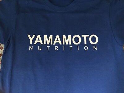 "T-Shirt Bodybuilding Fitness Palestra ""Yamamoto Nutrition"" 3"
