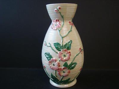 Maling Lustre Apple Blossom Tall Vase