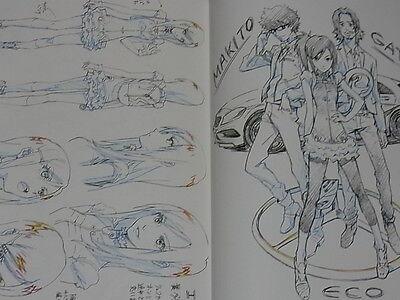 Yoshiyuki Sadamoto Color Art Book GRAPHITE Very RareC89