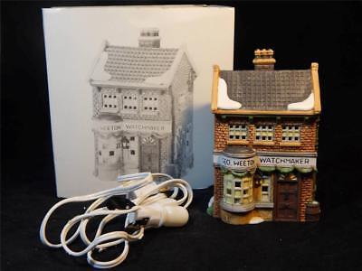 Dept. 56 Heritage Village Dickens Village Weeton Watchmaker #5926-9 w/Box FS 4
