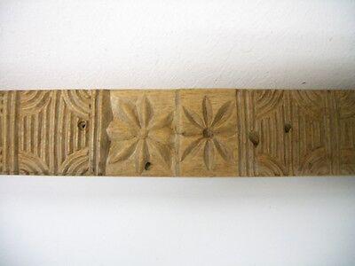 Seltenes altes Holzmodel, Backmodel, Springerlemodel Biedermeier um 1820 5
