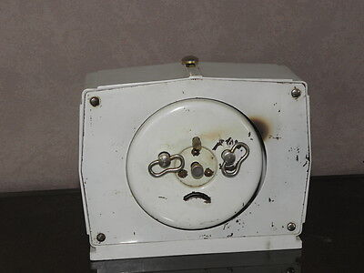 vintage clock alarm blangy retro desk  Art Deco design  Mechanics uhr old french 4