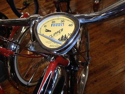 "STEWART WARNER Bicycle speedometer ALL METAL USA for 26/"" SCHWINN  COLUMBIA etc"