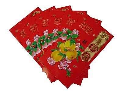 80PCS Colorful Chinese New Year Money Envelope HongBao Lucky Money Bag W// Zodiac