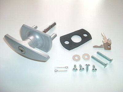Henderson T Handle Garage Door Internal External Lock Set Repair