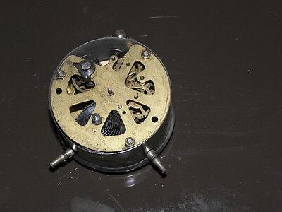 old table clock desk antique retro Art Deco design vintage rare Mechanics uhr 2