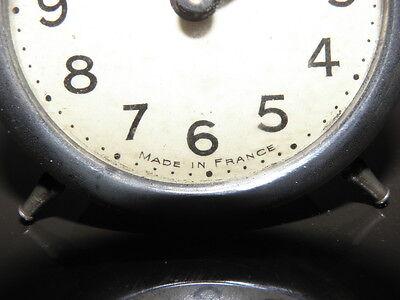 old table clock desk antique retro Art Deco design vintage rare Mechanics uhr 5