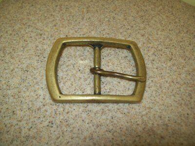 Vintage Belt Buckles Solid Brass Sterling & Pioneer Silver Plate (Lot of 3) 2