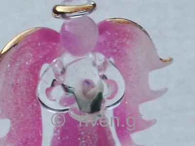 GUARDIAN ANGEL@LIGHT CHANGE@RELIGIOUS BLESSING GIFT@22Ct Gold@PINK@PRAYER VERSE
